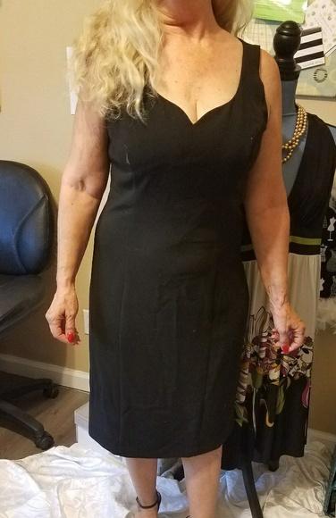 White House Black Market Dresses & Skirts - Black and white Little Black Dress